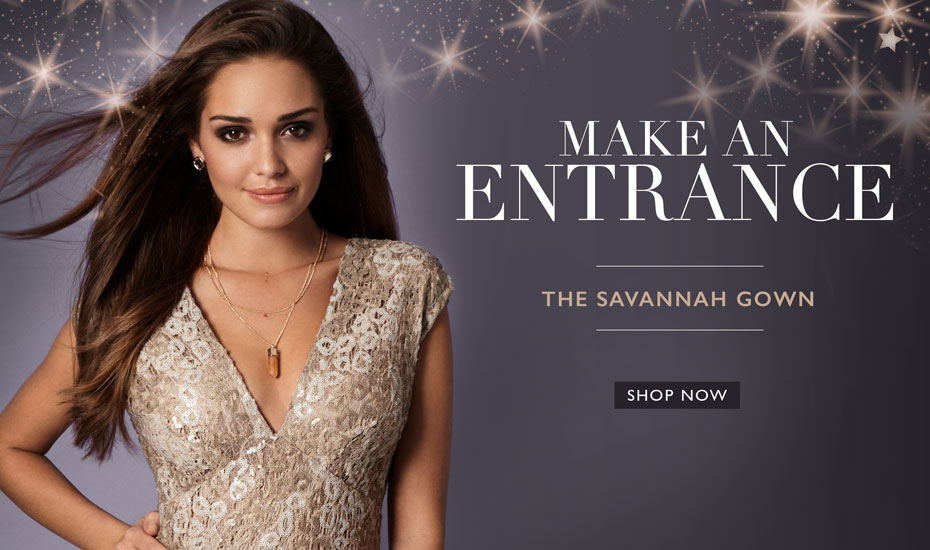 Savannah Evening Gown (Gold Rush)