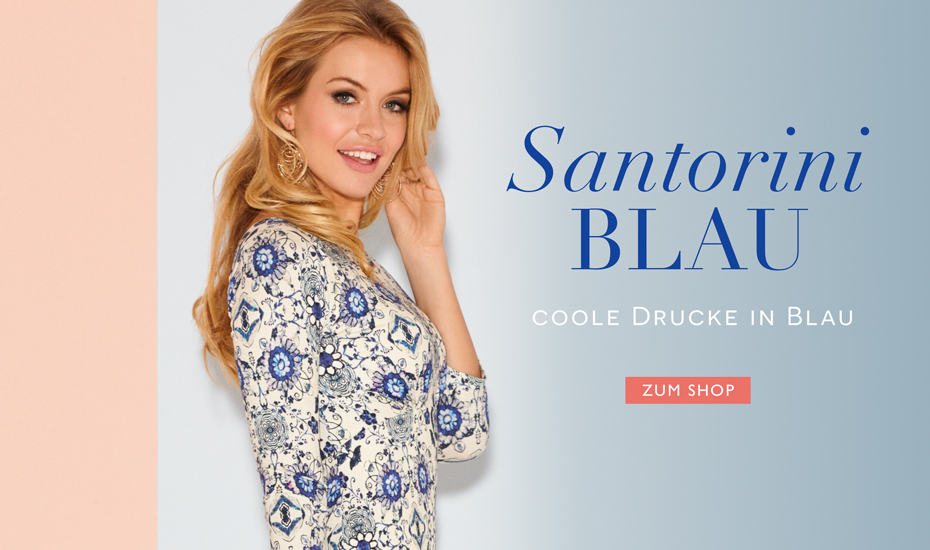 Holly Kleid Porzellan blau