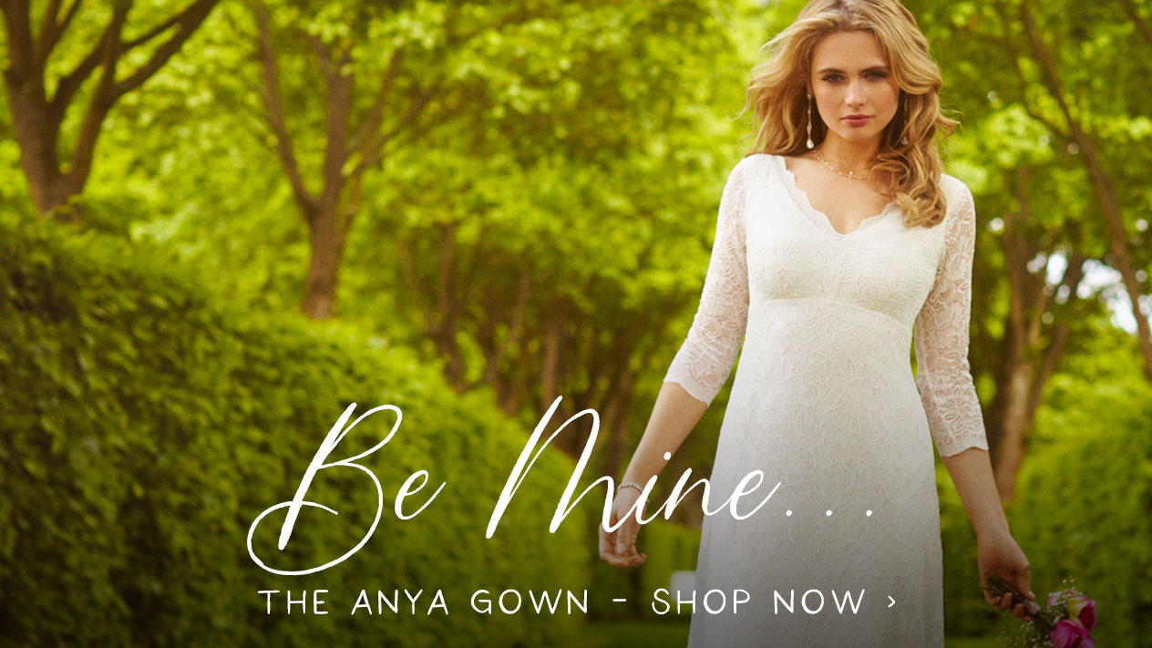 Anya Lace Wedding Gown Ivory