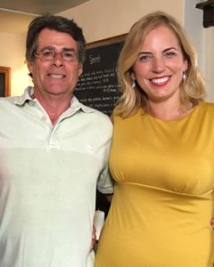 Jasmine Harman wearing the Pippa Shift Dress (Artisan Gold)