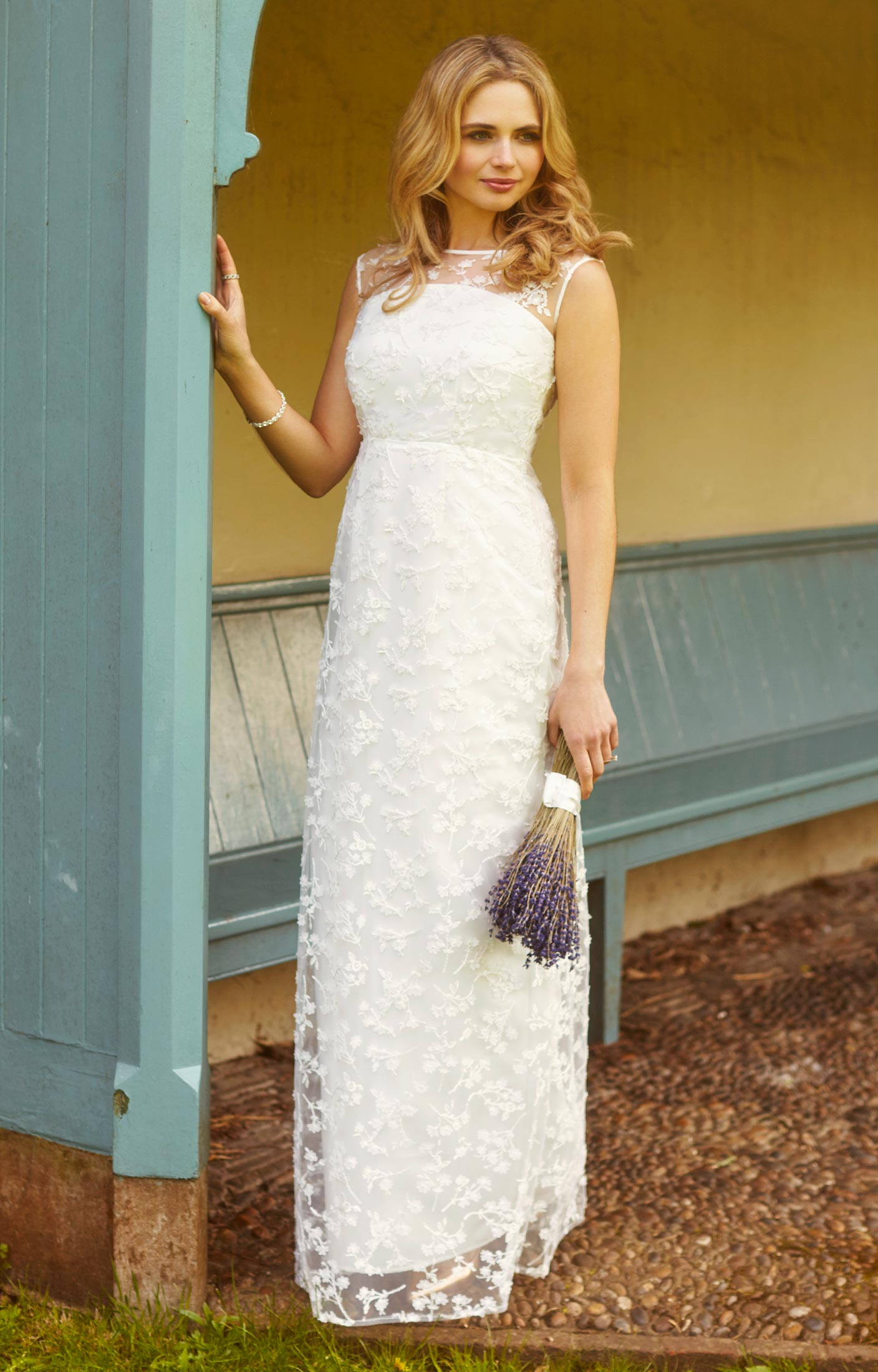 Azalia Wedding Gown Ivory - Evening Dresses, Occasion Wear and ...