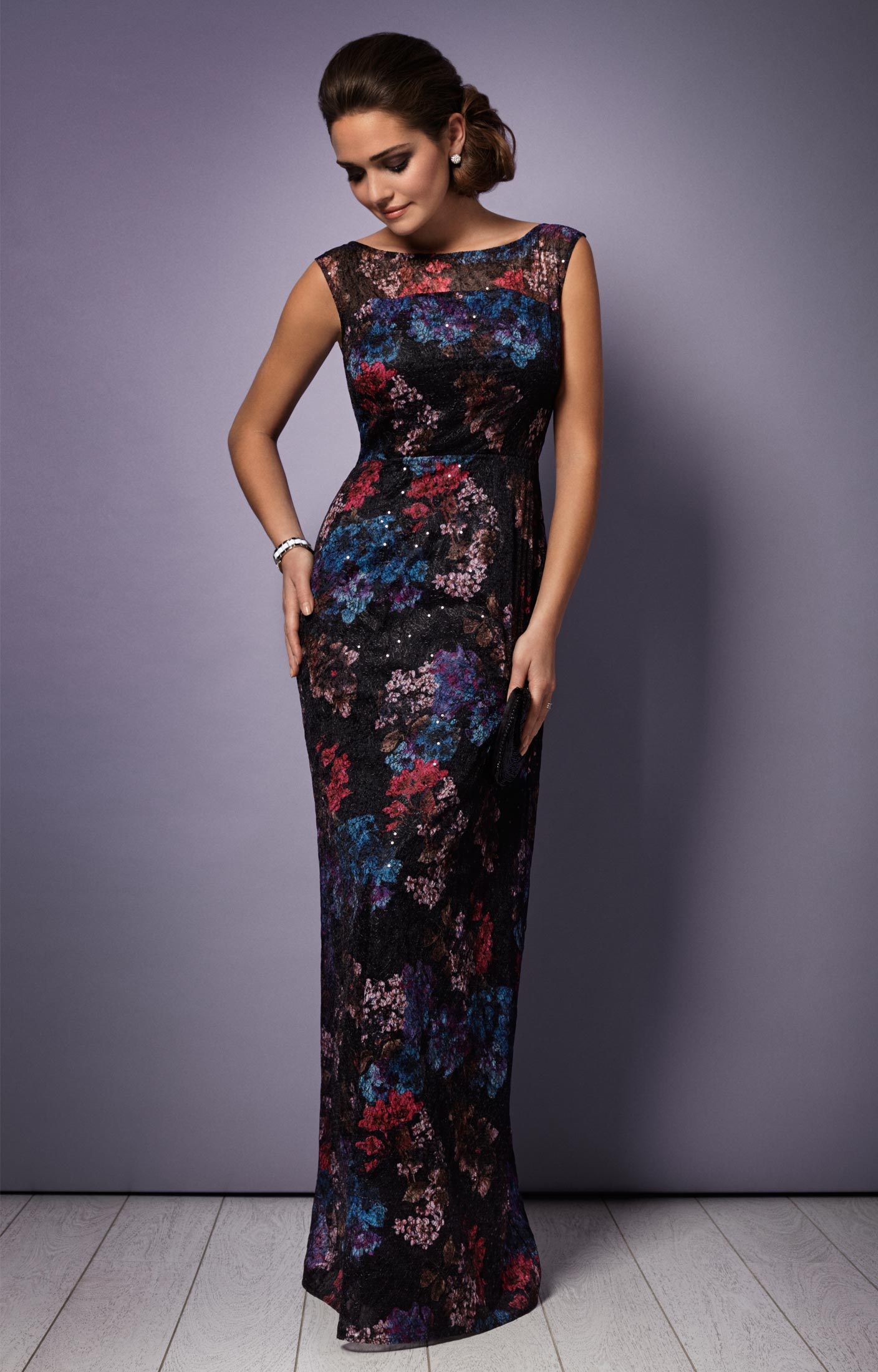 Azalia Evening Gown Oriental Bloom - Wedding Dresses, Evening Wear ...