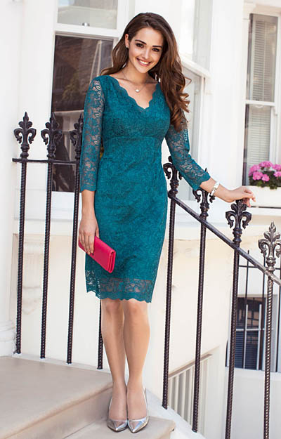 Anya Lace Occasion Dress Dragonfly by Alie Street