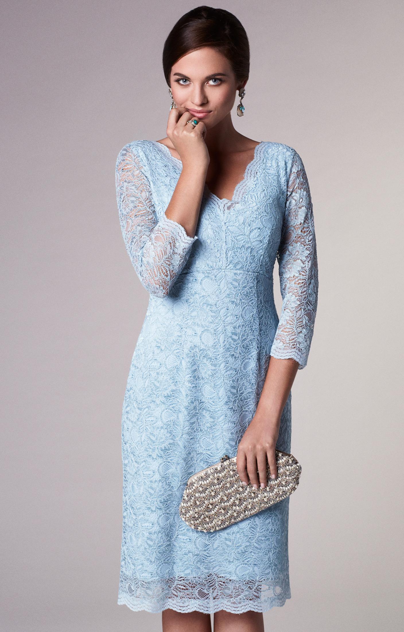 Anya Lace Occasion Dress Eau De Nil Wedding Dresses