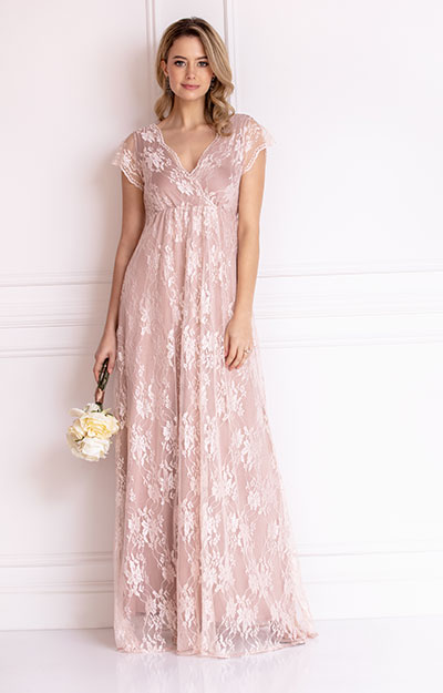 Evangeline Evening Gown (Blush) by Alie Street