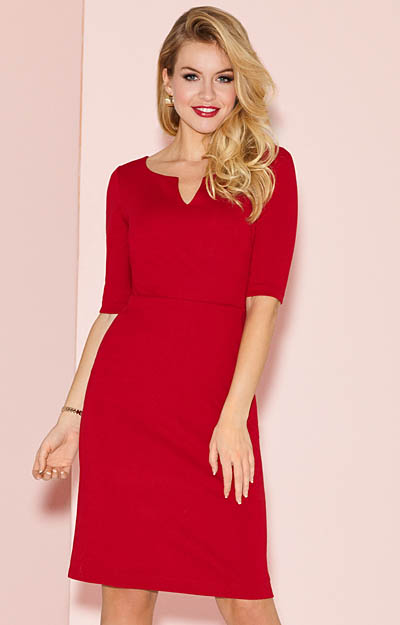Morgan Occasion Dress Chilli Pepper by Alie Street