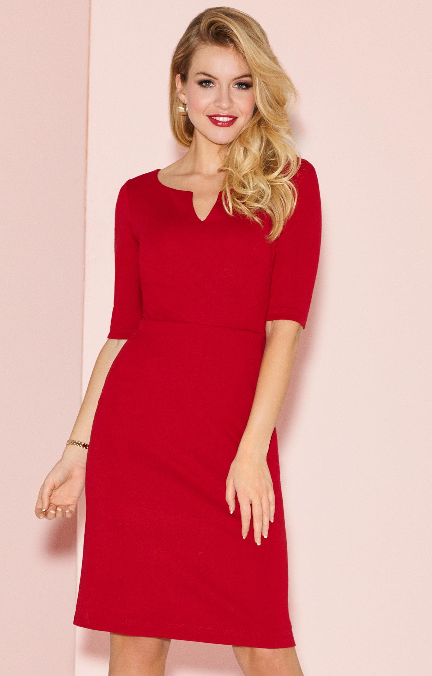 c006f3c8ed5f Robe habillée Morgan Piment Rouge - Robes de Mariée et Prêt-à-Porter ...
