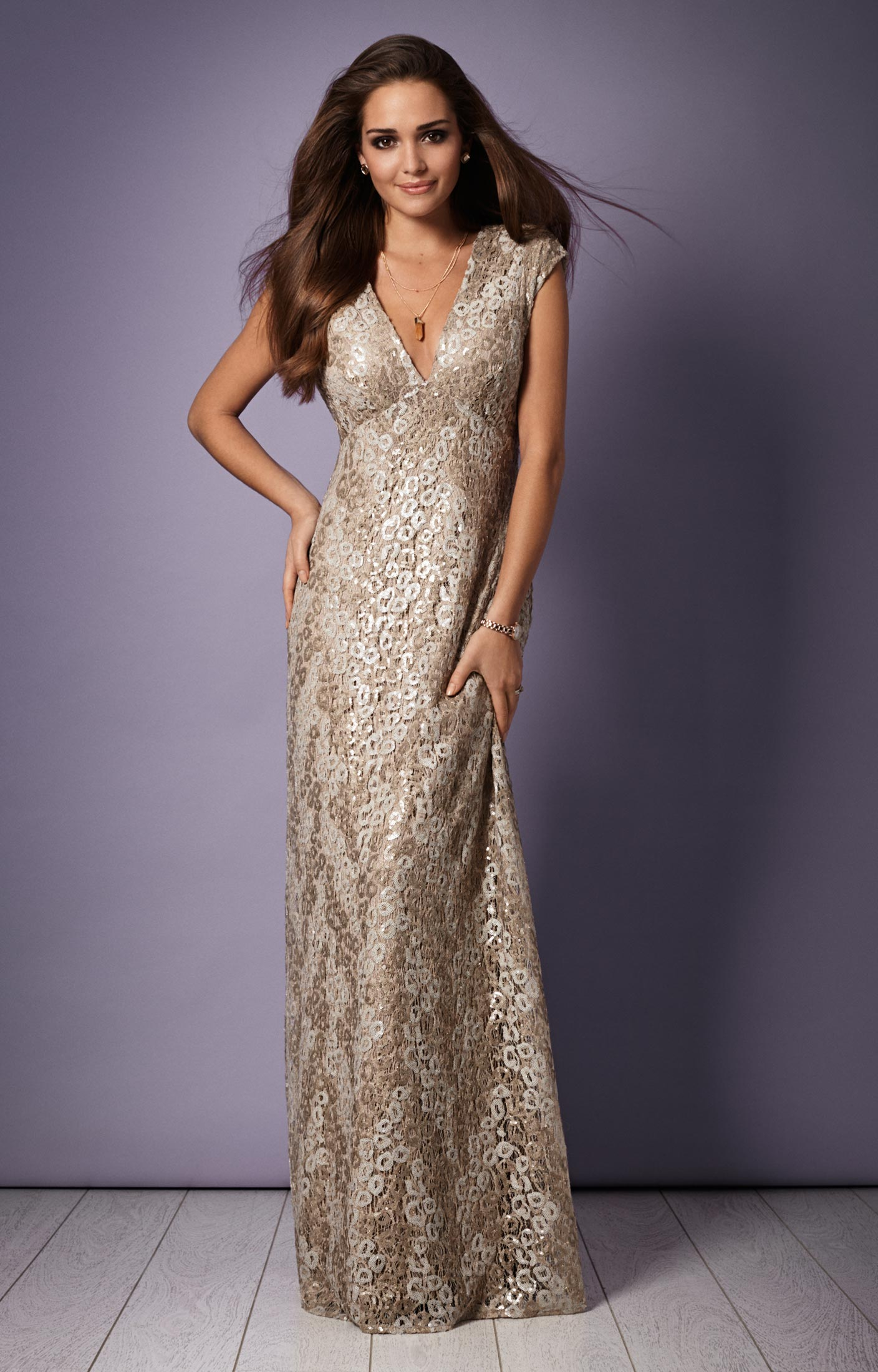 Savannah Evening Gown (Gold Rush) - Wedding Dresses, Evening Wear ...