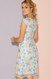 Atlanta Dress Short Pastel Daisy