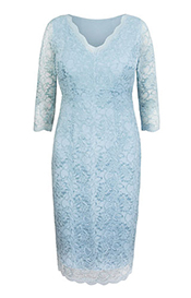 Anya Lace Occasion Dress Eau de Nil