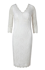 Anya Lace Wedding Dress Ivory