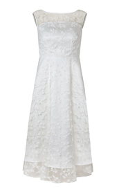 Azalia Midi Wedding Gown Ivory