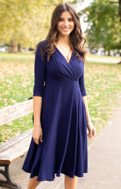 Annie Dress Eclipse Blue