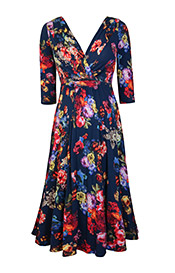 Annie Dress Midnight Garden