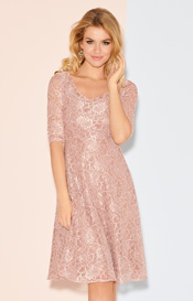 Kleid Arabella in Orchid Blush
