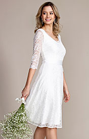Arabella Wedding Dress Short Ivory