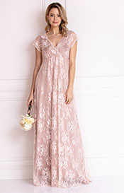 Evangeline Evening Gown (Blush)