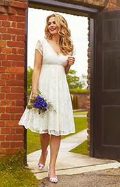 Evangeline Wedding Dress Ivory Dream