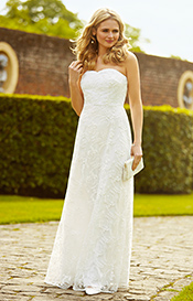 Flora Wedding Gown Ivory