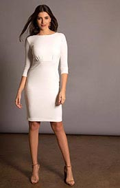 Holly Dress Short Cream