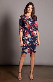 Holly Occasion Day Dress Midnight Garden