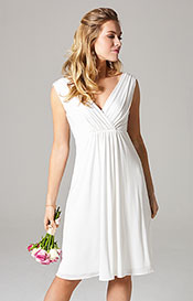 Havana Wedding Dress Short Ivory