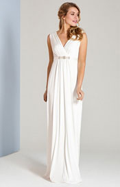 Havana Wedding Gown Long Ivory