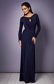 Jolie Evening Gown (Eclipse Blue)