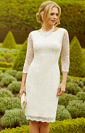 Katherine Lace Wedding Dress Ivory