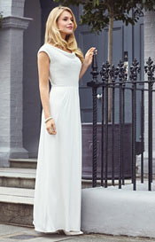 Loren Beaded Wedding Gown Ivory