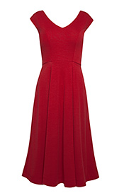 Robe Olivia (Piment Rouge)