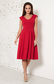 Olivia Day Dress (Chilli Pepper)