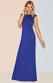 Kleid Pippa Lang in Royal Blau
