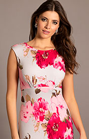 Pippa Shift Day Dress Grand Jardin