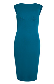 Pippa Shift Day Dress (Kingfisher)