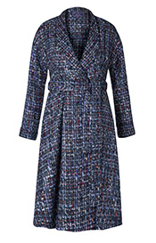 Torrington Dress Coat Bouclé Blue