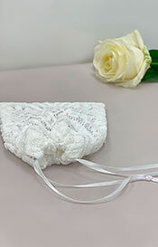 Verona Bridal Face Mask & Bag (Ivory White)