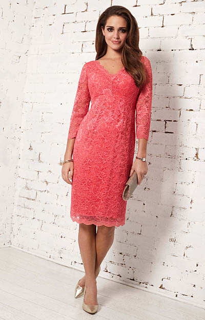 Anya Lace Occasion Dress (Coralista) by Tiffany Rose