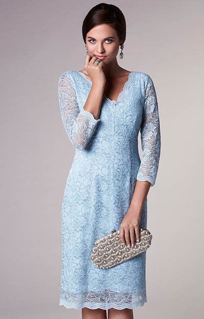 Anya Lace Occasion Dress Eau de Nil by Tiffany Rose
