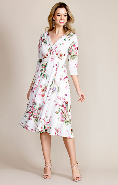 Annie Dress (Petal Pink Floral) by Alie Street London