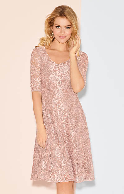 Arabella Dress Orchid Blush by Alie Street London