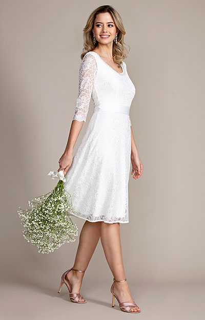 Arabella Wedding Dress Short Ivory by Tiffany Rose