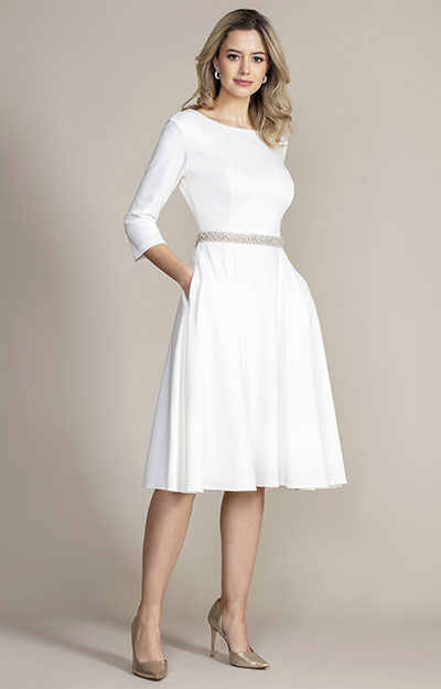 Georgia Dress (Ivory) by Alie Street London