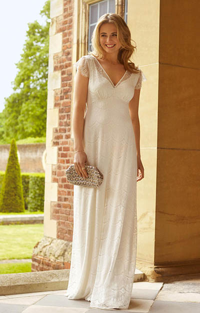 Isobel Wedding Gown Ivory by Alie Street London