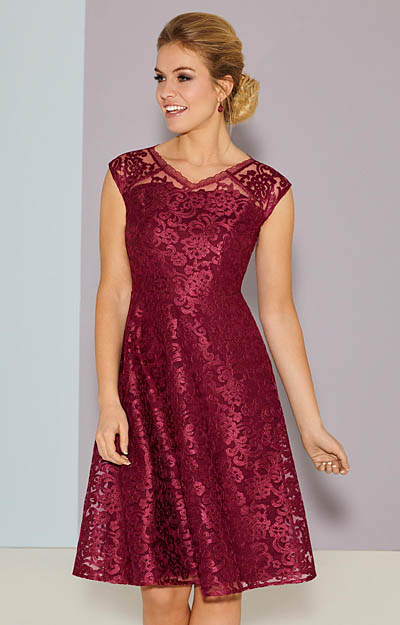 Paris Occasion Dress Short Scarlet by Tiffany Rose