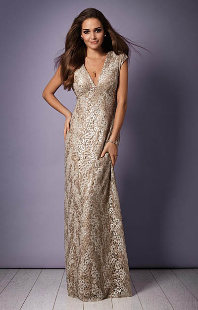 Savannah Evening Gown (Gold Rush) by Alie Street London