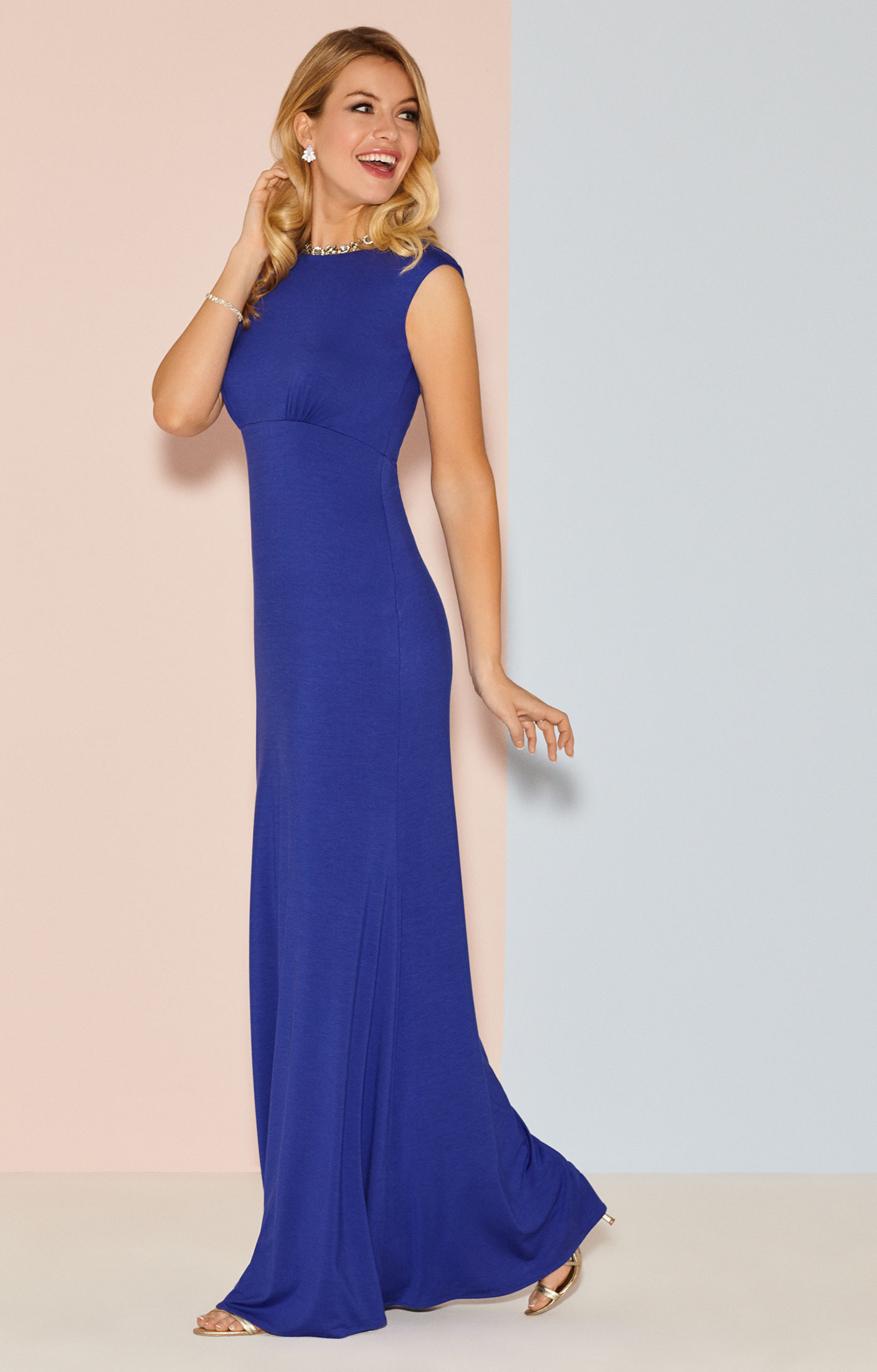 Pippa Evening Gown Long Royal Blue Evening Dresses
