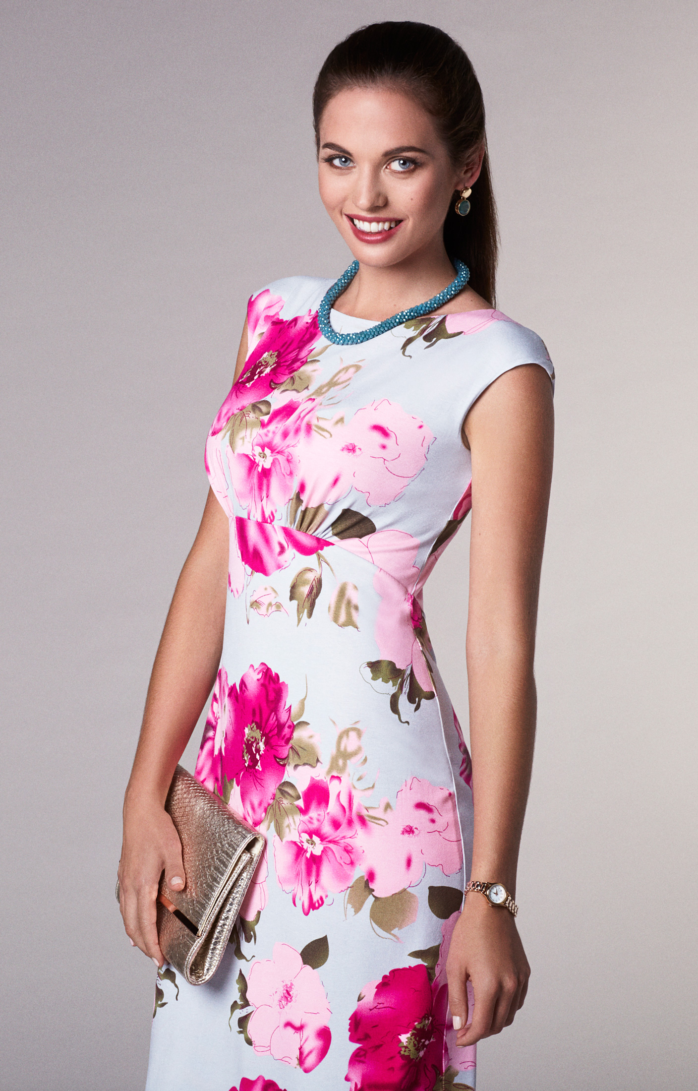 689ac588bfd9 Pippa Shift Day Dress Grand Jardin - Evening Dresses