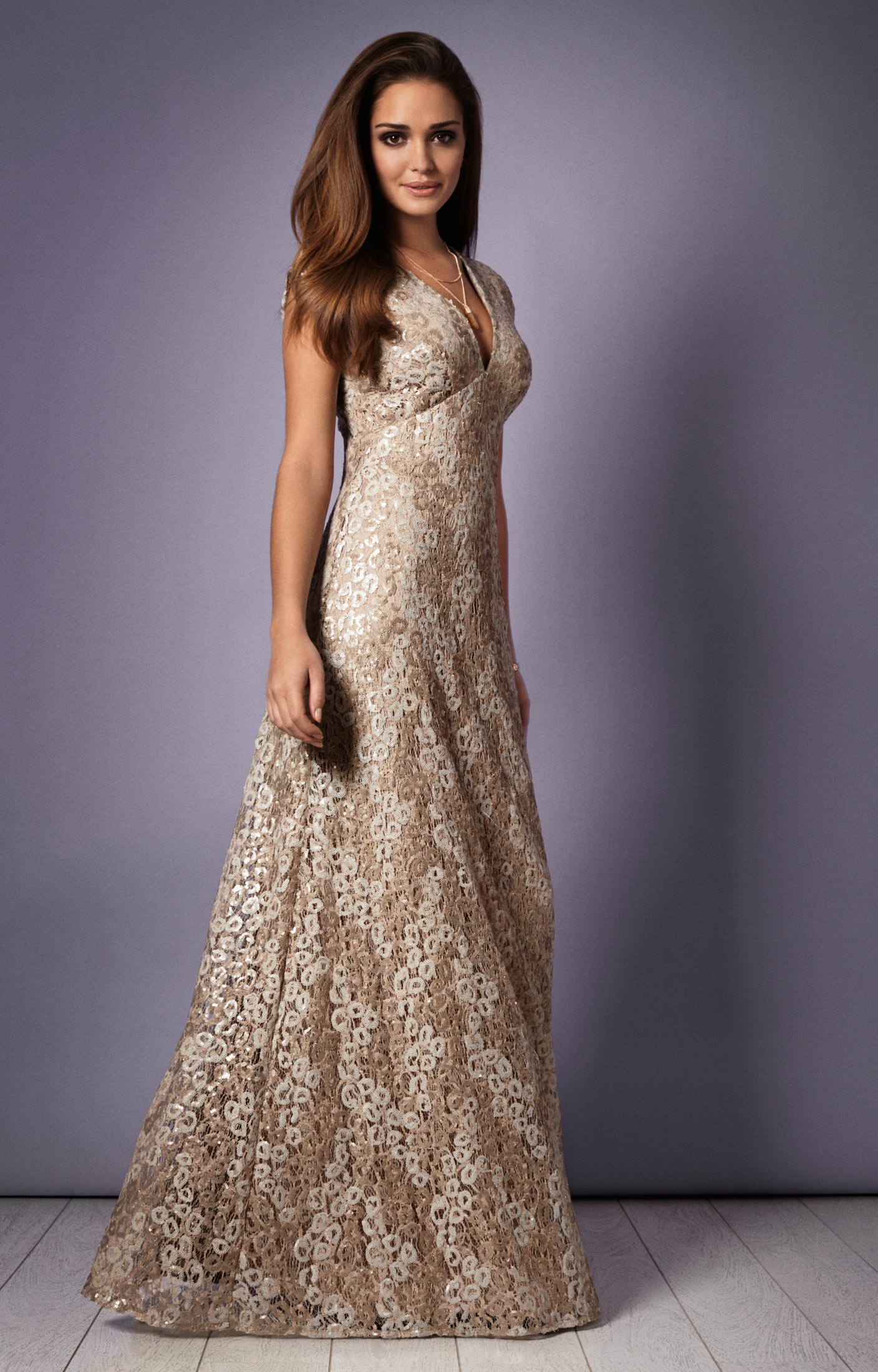 Savannah Evening Gown (Gold Rush) - Evening Dresses, Occasion Wear ...